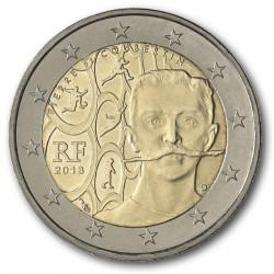 Frankrijk 2 euro 2013 'Pierre de Coubertin'