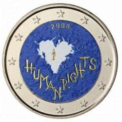 T3 Finland 2008 - 2 euro 'Mensenrechten'