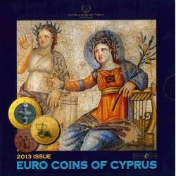 Cyprus BU-set 2013 'Mozaïeken van Paphos'