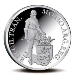 Koninkrijksmunten Nederland Zilveren dukaat 2013 'Overijssel'