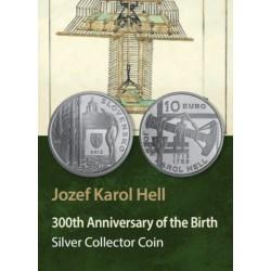 Slowakije 10 euro 2013 'Jozef Karol Hell'