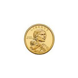 USA $1 Native Dollar 2013 'Delaware 1778'