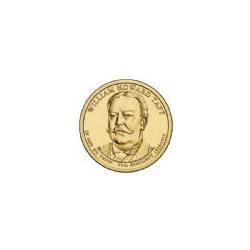 USA $1 Dollar William Howard Taft 2013