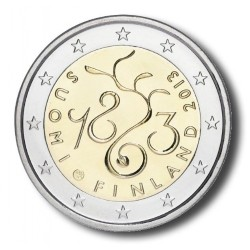 Finland 2 euro 2013 '150 jaar Parlement'