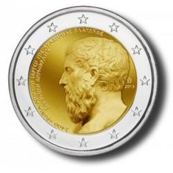 Griekenland 2 euro 2013 'Plato'