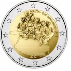 Malta 2 euro 2013 'Zelfbestuur' zonder Nederlands muntteken
