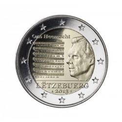 Luxemburg 2 euro 2013 'Volkslied'