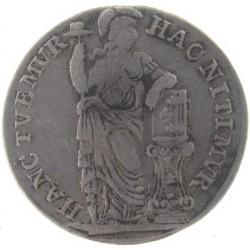 Nederlandse ½ gulden West-Friesland V.O.C. 1787
