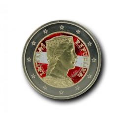 T1 Letland 2014 - 2 euro 'Letse maagd'