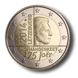 Luxemburg 2 euro 2014 '175 jaar onafhankelijkheid'