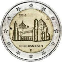 Duitsland 2 euro 2014 'Niedersachsen' - willekeurige letter