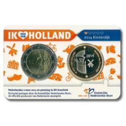 Nederland Holland Coincard 2014 'Deel 1: Kinderdijkse Molens'
