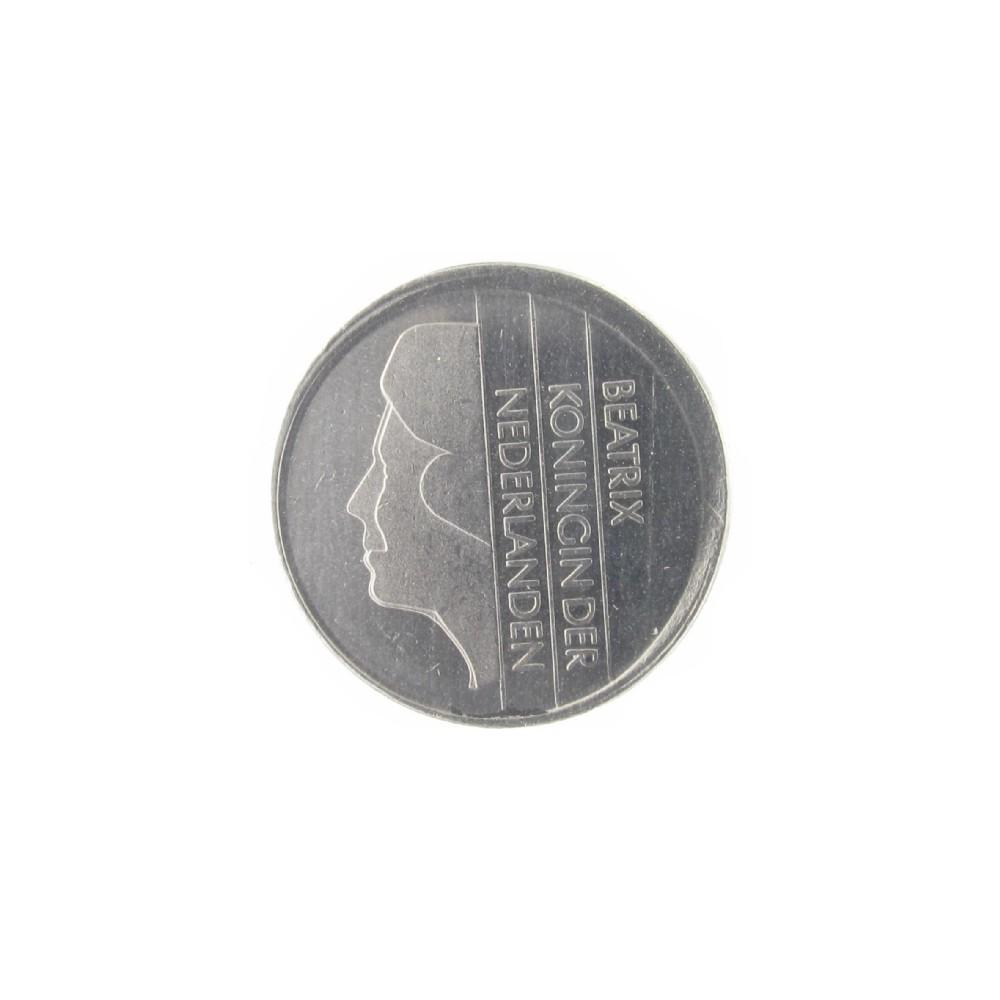 Misslag: 25 cent 1998 excentrisch geslagen