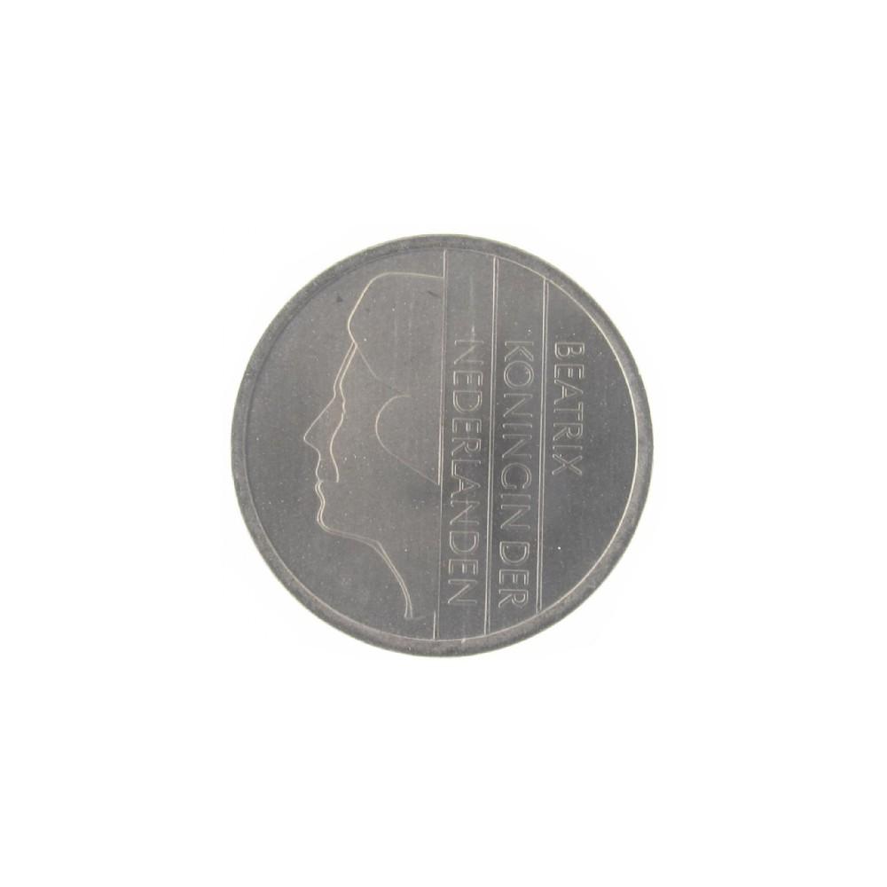 Misslag: 25 cent 1982 kwartslag gedraaid