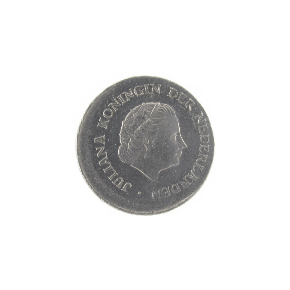 Misslag: 25 cent 1978 excentrisch geslagen
