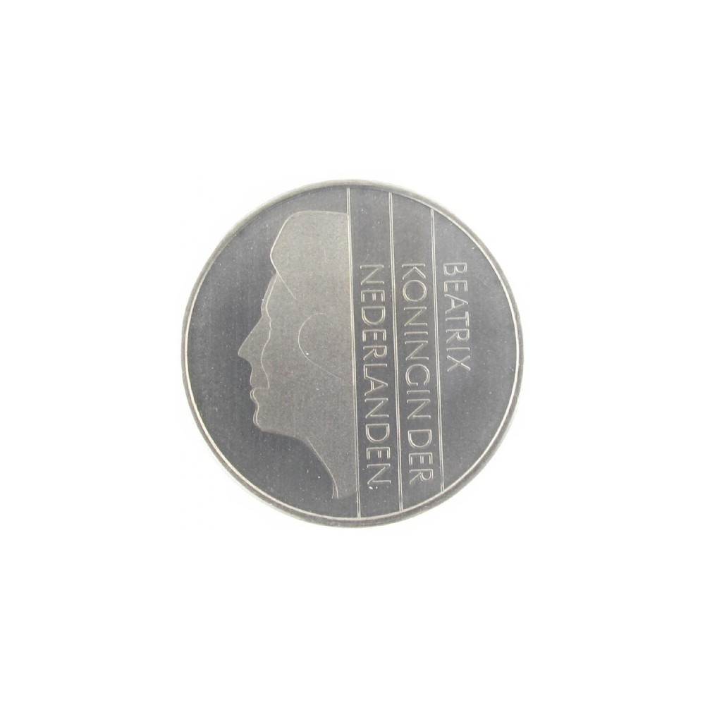Misslag: 1 gulden 1982 kwartslag gedraaid