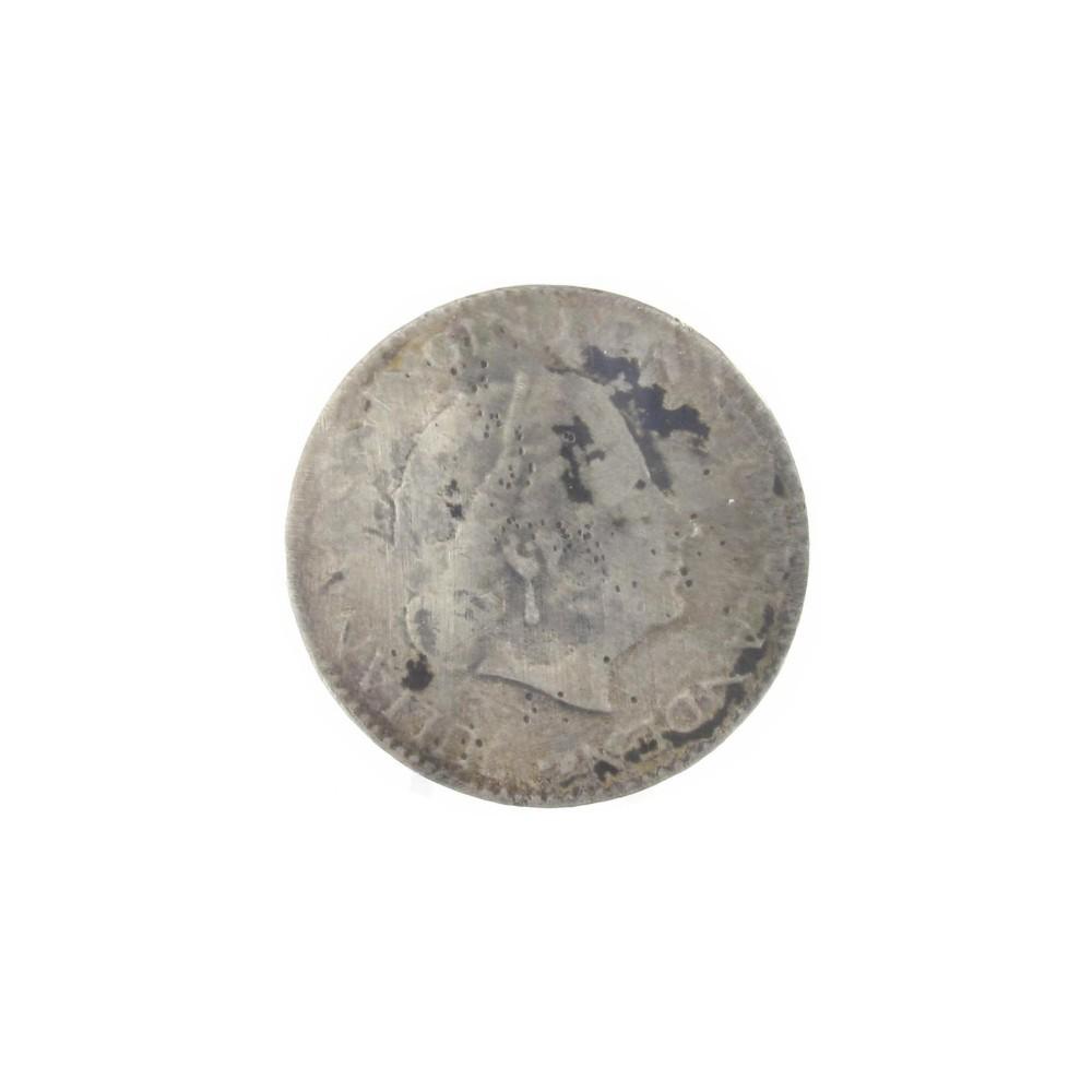 Misslag: 1 gulden zonder jaartal, halve dikte