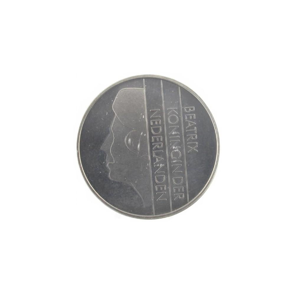 Misslag: 2½ gulden 1992 kwartslag gedraaid