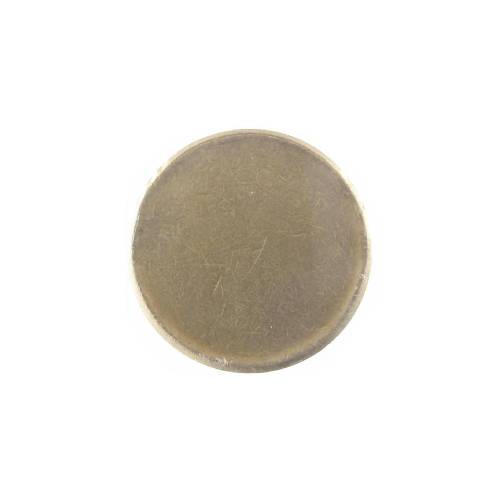 Misslag: 5 gulden zonder jaar muntplaatje met randschrift