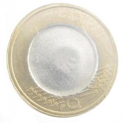 Misslag: blanco euro zonder jaar, verkeerde kern