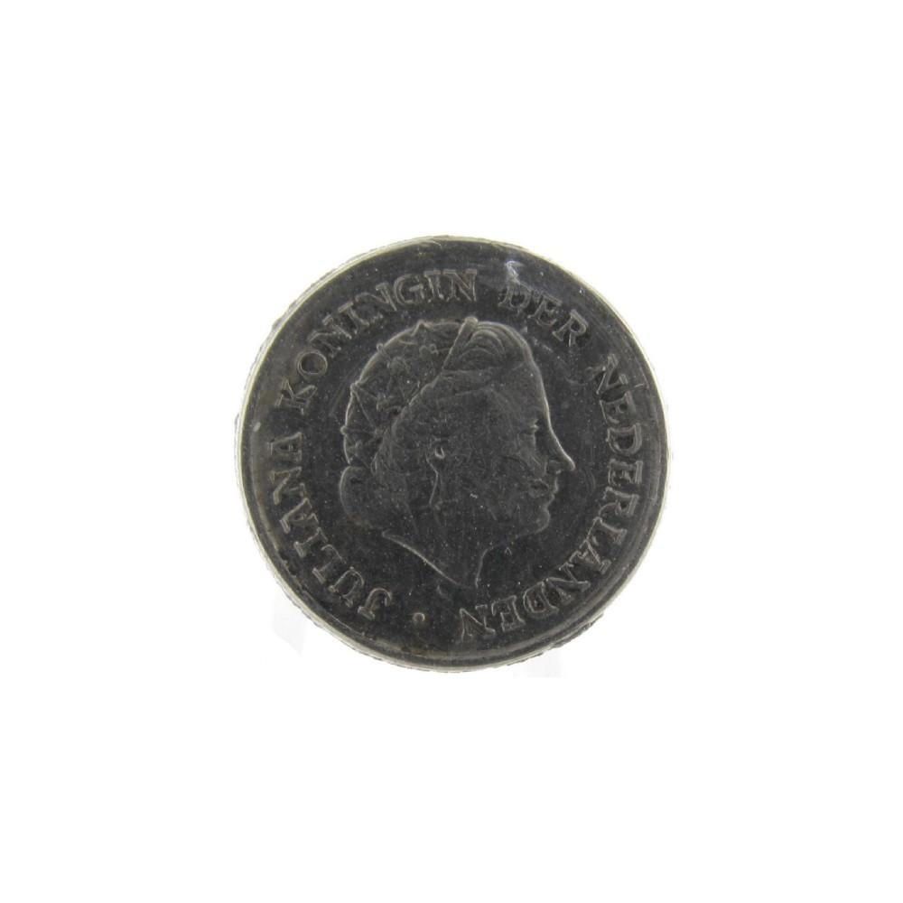Misslag: 10 cent Z.j. dubbele dikte, hybride geslagen