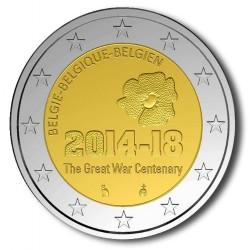 België 2 euro 2014 'Eerste Wereldoorlog'