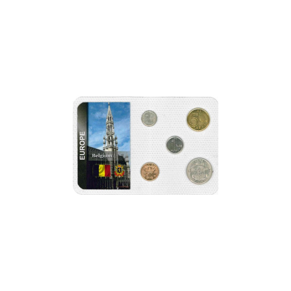 Europa België Wereldset type 2 | de Belgische Franc