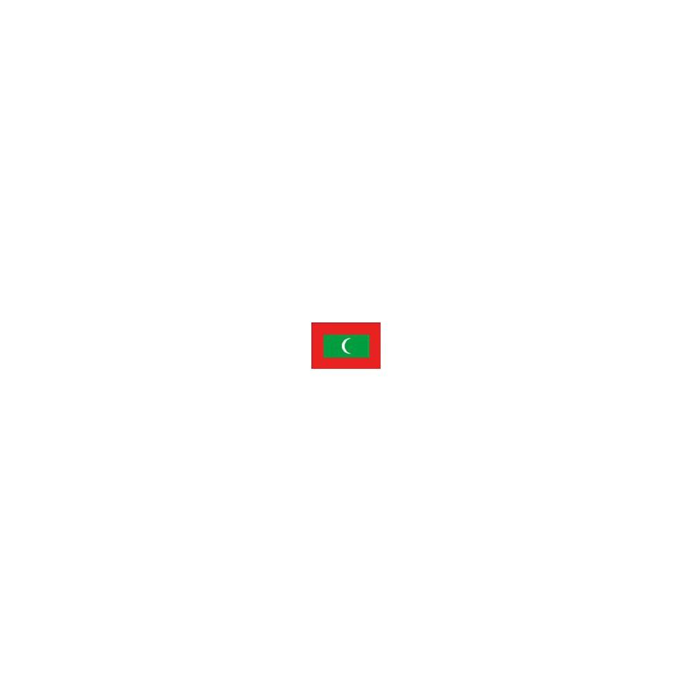 Azië Malediven Wereldset type 2   de Malediven Rufiyaa