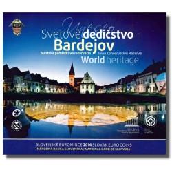 Slowakije BU-Set 2014 'World Heritage Bardejov'