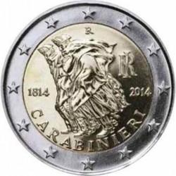 Italië 2 euro 2014 'Carabinieri'