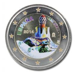 T1 Spanje 2014 - 2 euro 'Gaudi'