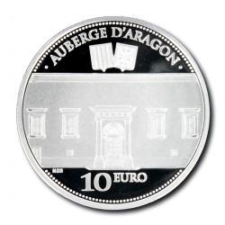 Malta 10 euro 2014 'Auberge D'Aragon'