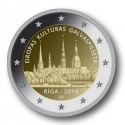 Letland 2 euro 2014 'Riga'
