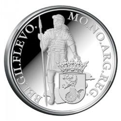 Koninkrijksmunten Nederland Zilveren dukaat 2014 'Flevoland'