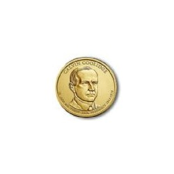 USA $1 Dollar Calvin Coolidge 2014