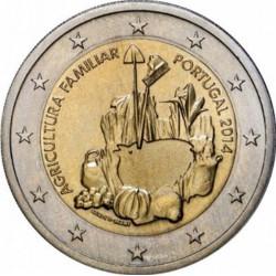 Portugal 2 euro 2014 'Internationaal jaar van de boerenfamilie'