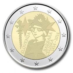 Slovenië 2 euro 2014 'Barbara van Celje'