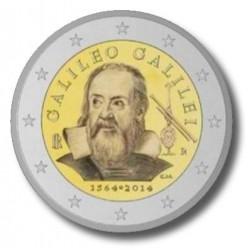 Italië 2 euro 2014 'Galileo Galilei'