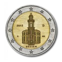 Duitsland 2 euro 2015 'Hessen' - willekeurige letter
