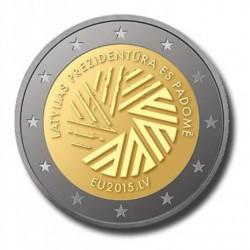 Letland 2 euro 2015 'Voorzitterschap EU'