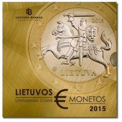 Litouwen BU-Set 2015 'Eerste Litouwse euro's'