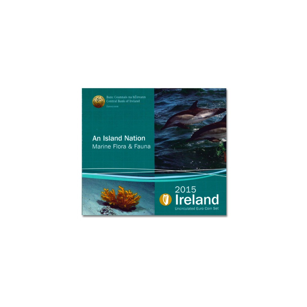 Ierland BU Set 2015 'An Island Nation, Marine Flora & Fauna'