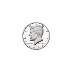 USA Half Dollar Kennedy 2015