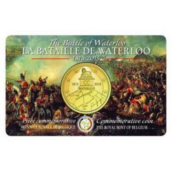 België 2,5 euro 2015 'Waterloo'