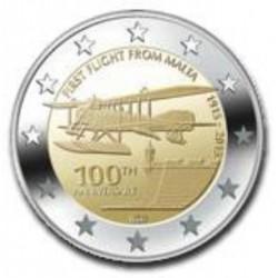 Malta 2 euro 2015 'Eerste vlucht van Malta'