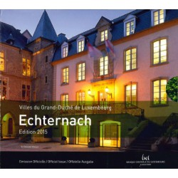 Luxemburg BU-Set 2015 incl. 2 euro 2015 '15 jaar troonsbestijging Henri'