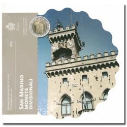 San Marino BU-Set 2015 (Set zonder 5€)