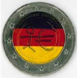 Duitsland 2 Euro 2009 'Tiende verjaardag van de EMU' in kleur