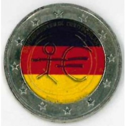 T1 Duitsland 2009 - 2 euro 'Tiende verjaardag van de Economische en Monetaire Unie'