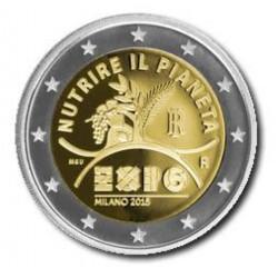 Italië 2 euro 2015 'Expo Milan'